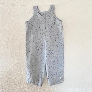 Jumper, Größe 80/86 , Latzhose, Jumpsuit, Schlupfhose, Musselin Jersey  von Mausbär - Handarbeit kaufen