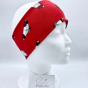 Stirnband, KU 47 - 50 cm, Stirnband, Auto, von Mausbär    - Handarbeit kaufen
