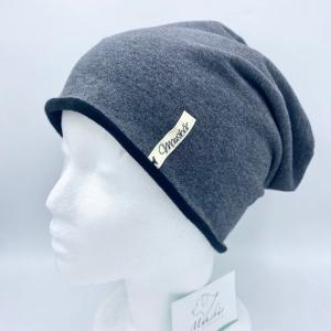 Beanie,  KU 54 - 57 cm, Mütze, doppellagig, innen mit Fleece, von Mausbär - Handarbeit kaufen