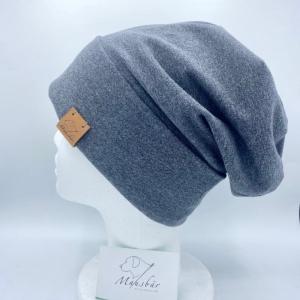 Beanie,  KU 54 - 57 cm, Mütze,  Umschlagbeanie, Hipstermütze, von Mausbär  - Handarbeit kaufen
