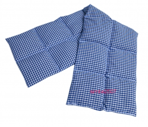 14 Kammer Rapskissen 70x 20 cm Vischy Karo blau/weiß - Handarbeit kaufen
