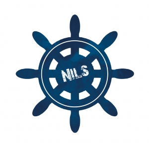 Wandtattoo | Steuerrad - maritimer Wandaufkleber & Türaufkleber - mit Name personalisierbar - Handarbeit kaufen