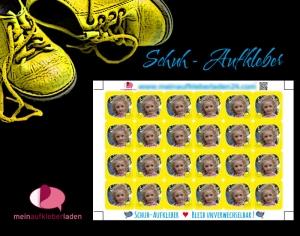 24 Schuhaufkleber mit Foto | Sonne - gelb + Schutzfolie - personalisierbar mit eigenem Foto | Namensaufkleber, Schuhetiketten  - Handarbeit kaufen