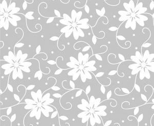 Wandbordüre - selbstklebend | Blumen Ornamente - 15 cm Höhe | Vlies Bordüre mit romantischen Blüten  - Handarbeit kaufen