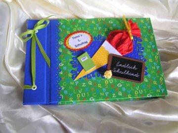 Gästebuch zu Einschulung mit Namen des Kindes