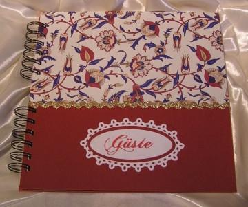 Gästebuch für die Familienfeier Handgearbeitet