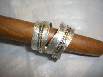 Partnerringe - Eheringe mit Dreh - Vol.1 (Kopie id: 100053489) (Kopie id: 100127165) - Handarbeit kaufen