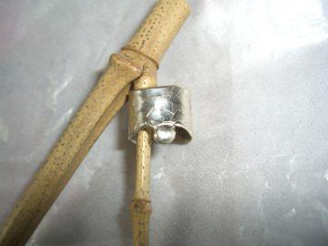 Ohrklemme Ear Cuff  - Silber mit kleinem Nugget