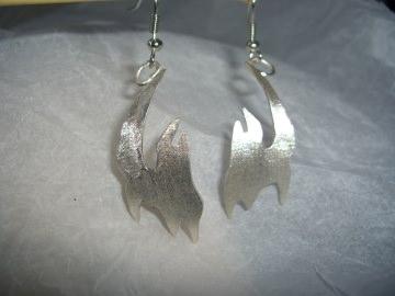 Ohrringe Silber 'Tribal'