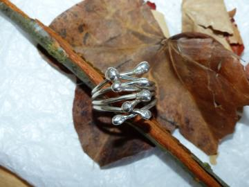 wilder Silberring
