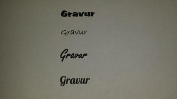 Gravur - Ringe innen/außen -