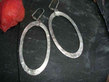 XXL Ohrringe aus 925er Silber