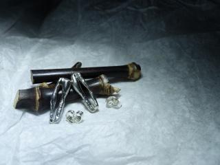 Ohrstecker in Silber - Handarbeit kaufen