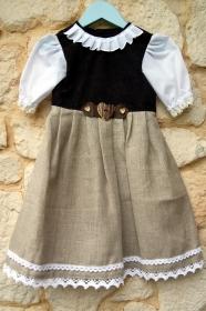 Kinderdirndl  Luzie  Gr.86
