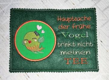 Mugrugs  Tassenteppich  Tassenuntersetzer handgefertigt aus Filz - Handarbeit kaufen