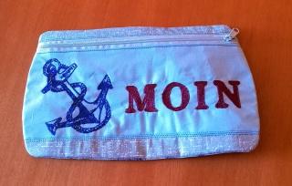 ☆ maritimes Täschchen ☆    aus Stoff mit Reißverschluss für all die kleinen Dinge