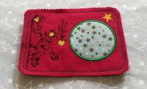 Mugrugs  Tassenteppich  Tassenuntersetzer handgefertigt aus Filz  kleines Weihnachtsgeschenk