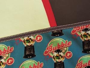 Kinderpullover Pulli Größe 128 Unikat Bubblegum Kaugummi Baumwoll Jersey