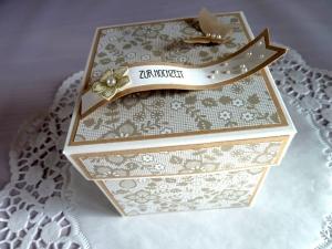 Explosionsbox/Geldgeschenk zur Hochzeit/Wedding