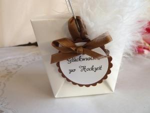 Geldgeschenkbox / Asiabox zur Hochzeit - Handarbeit kaufen