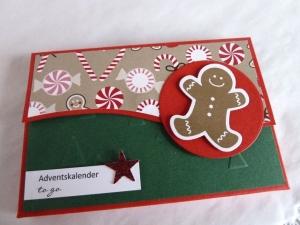 Adventskalender to go, Mini-Adventskalender, Adventskalender für die Tasche - Handarbeit kaufen