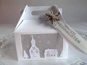Geldgeschenkbox , Verpackung für Kleinigkeiten, zu Weihnachten