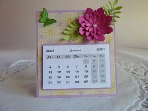 Mini-Tischkalender 2021 - Handarbeit kaufen
