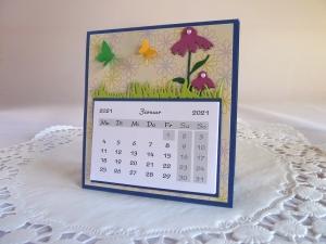 Mini-Tischkalender 2021 / Geschenkidee für Weihnachten/Advent/Neujahr - Handarbeit kaufen