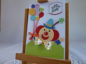 Glückwunschkarte zum Geburtstag, Namenstag, für Kinder - Handarbeit kaufen