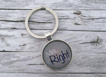 Schlüsselanhänger, Mr. Right