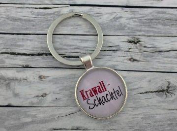 Schlüsselanhänger, Krawallschachtel