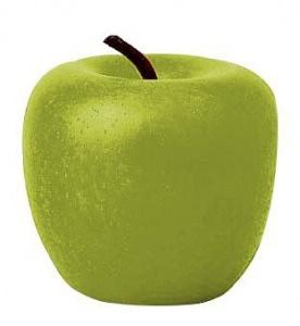Grüner Apfel aus Holz, Kaufladenobst