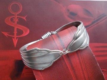 Besteckschmuck Armband Armreif mit Magnet ♥ Fächer