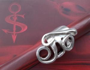 Besteckschmuck Ring ♥ Ring  aus einer Gabel Größe 54