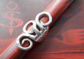 Besteckschmuck Ring ♥ Ring  aus einer Gabel Größe 57