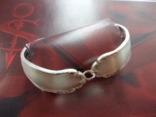 Besteckschmuck Armband Armreif mit Magnet ♥ Nostalgie III - Handarbeit kaufen