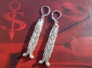 Besteckschmuck Ohrring Ohrschmuck ♥   Ohrhänger *Indian*   - Handarbeit kaufen