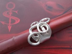 Besteckschmuck Ring ♥ Ring  aus einer Dessertgabel Größe 56