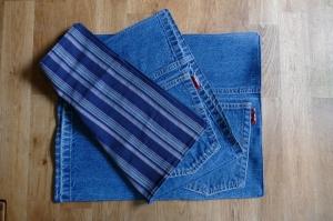 Platzdeckchen ♥ Platzset Tischset *Blue Jeans II* Tischdekoration - Handarbeit kaufen