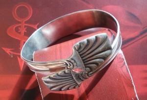 Besteckschmuck Armband Armreif aus einer Zuckerzange ♥ Elegance - Handarbeit kaufen