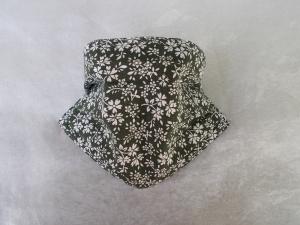 Behelfs-Mundschutz Maske Baumwolle waschbar genäht Nasenbügel Gummischlaufen *Landhaus*
