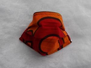 Behelfs-Mundschutz Maske Baumwolle waschbar genäht Nasenbügel Gummischlaufen *Africa VII*