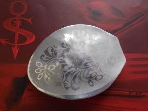 Besteckschmuck Haarspange♥ Haarspange aus einem Kaffee-Löffel florales Muster *Flora* - Handarbeit kaufen