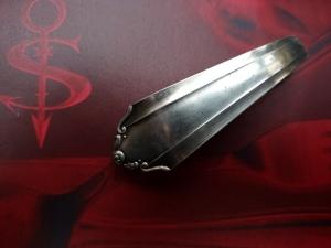 Besteckschmuck Haarspange♥ Haarspange aus einem Suppenlöffel-Stiel  *Romance* - Handarbeit kaufen