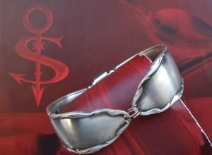 Besteckschmuck Armband Armreif mit Magnet ♥ Nostalgie  - Handarbeit kaufen