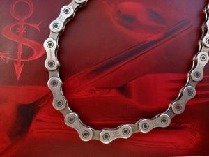 *Mechanic* ♥ Halskette Kette aus einer recycelten Fahrradkette - Handarbeit kaufen