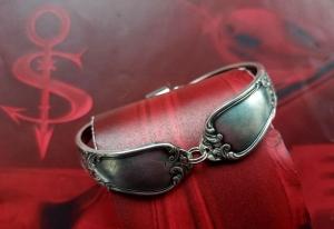 Besteckschmuck Armband Armreif mit Magnet ♥ Lovely - Handarbeit kaufen