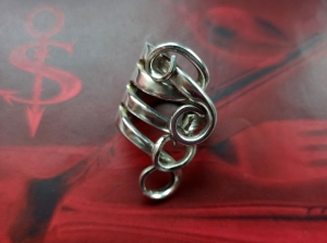 Besteckschmuck Ring ♥ Ring  aus einer Gabel Größe 56 - Handarbeit kaufen