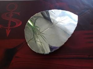 Besteckschmuck Haarspange Blatt ♥ Haarspange aus einem Tortenheber - Handarbeit kaufen