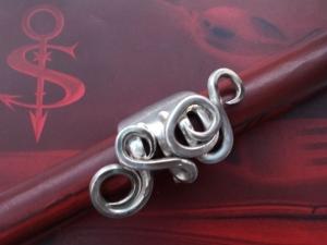 Besteckschmuck Ring ♥ Ring aus einer Dessertgabel Größe 52/53